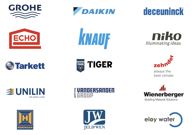 produits labellisés Delta Constructions marques premium